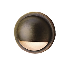 Kichler Lighting Landscape LED Bronzed Brass LED Deck Light
