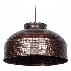 Kenroy Home Lighting Detail Copper Pendant Light