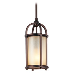 Underscore Cimmaron Bronze Pendant Light with Cylindrical Shade