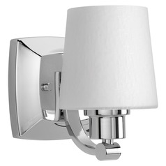 Glance Polished Chrome Sconce