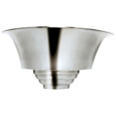 Kenroy Home Lighting Spinnaker Brushed Steel Sconce