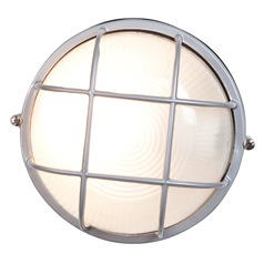 Access Lighting Nauticus Satin LED Outdoor Wall Light