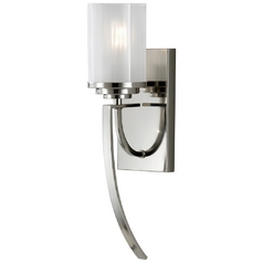 Feiss Lighting House Finley Polished Nickel Sconce