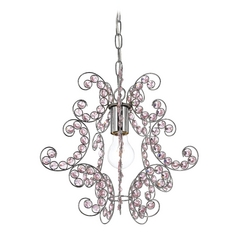 Swag lighting plug in swag ceiling lights swag chandeliers af lighting mini chandelier aloadofball Gallery