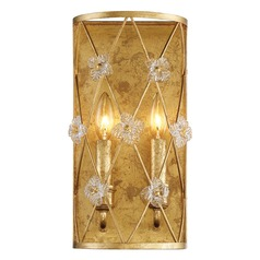 Metropolitan Lighting Victoria Park Elara Gold Sconce