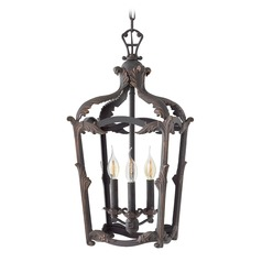 Aged Iron Pendant Light by Hinkley Lighting