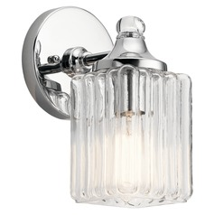 Transitional Sconce Chrome Riviera by Kichler Lighting