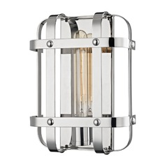 Hudson Valley Lighting Colchester Polished Nickel Sconce