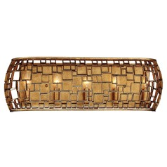 Metropolitan Lighting Abbondanza Halcyon Gold Bathroom Light