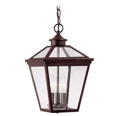 Savoy House English Bronze Outdoor Hanging Light