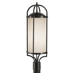 Feiss Lighting Dakota Espresso LED Post Light