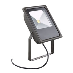 LED Flood Light Bronze 50-Watt 120v-277v 4620 Lumens 4000K 110 Degree Beam Spread