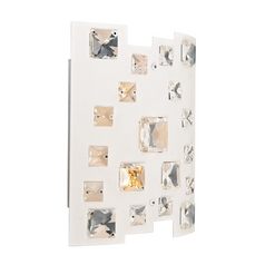 Lite Source Lighting Isabella White Sconce