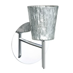 Besa Lighting Nico Chrome LED Sconce