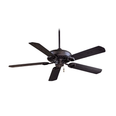 54-Inch Ceiling Fan Without Light in Heritage Finish