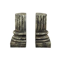 Classical Columns Decorative Architectural Bookends