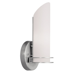 Livex Lighting Pelham Brushed Nickel Sconce