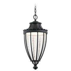 Kichler Lighting Wakefield Textured Black LED Outdoor Hanging Light