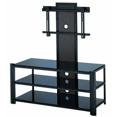 Lite Source Burly Black Table
