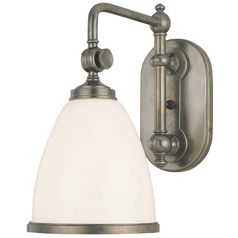 Single Light Adjustable Switched Sconce