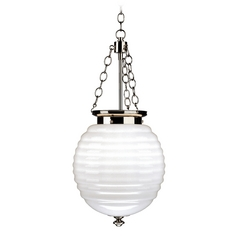 Robert Abbey Beehive Pendant Light