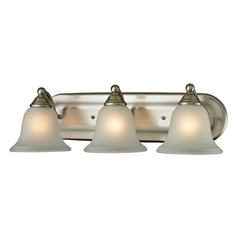 Cornerstone Lighting Shelburne Brushed Nickel Bathroom Light
