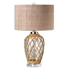 Uttermost Foiano Glass Rope Table Lamp