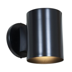 Access Lighting Poseidon Black LED Outdoor Wall Light