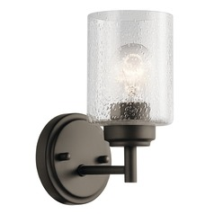 Seeded Glass Sconce Olde Bronze Winslow by Kichler Lighting