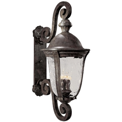Oversize 36-1/2-Inch Outdoor Wall Light
