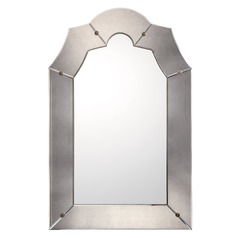 Capital Lighting Bronze With Gold Dust Arched Mirror 45x29