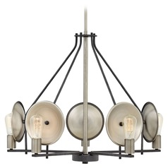 Mid-Century Modern Chandelier Zinc Boyer by Hinkley Lighting