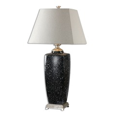 Uttermost Barzana Gloss Black Table Lamp