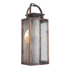 Craftmade Weathered Copper LED Outdoor Wall Light 3000K 400LM