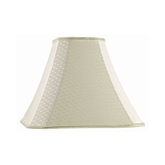 Spider Cut Corner Cream Lamp Shade
