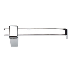 Modern Toilet Paper Holder in Polished Chrome Finish
