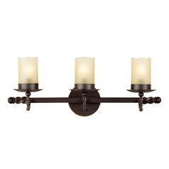 Sea Gull Lighting Trempealeau Roman Bronze Bathroom Light