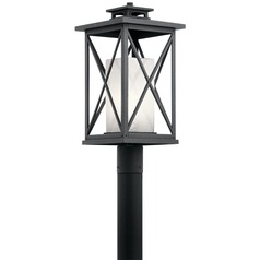 Kichler Lighting Piedmont Distressed Black Post Light