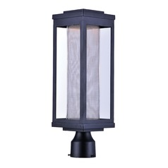 Maxim Lighting Salon LED Black LED Post Light