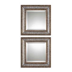 Square 18-Inch Mirror