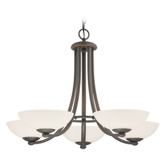 Dolan Designs Lighting Bronze Five-Light Chandelier 2900-78