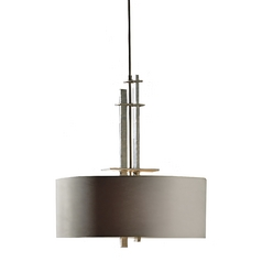 Burnished Steel Drum Pendant Ceiling Light