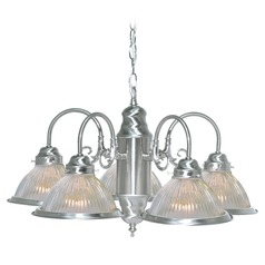 Nuvo Lighting Brushed Nickel Chandelier