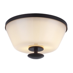 Feiss Lighting Huntley Oil Rubbed Bronze Flushmount Light