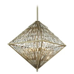 Elk Lighting Viva Natura Aged Silver Pendant Light