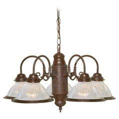 Nuvo Lighting Old Bronze Chandelier