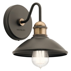 Farmhouse Sconce Olde Bronze Clyde by Kichler Lighting
