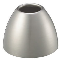 WAC Lighting Brushed Nickel Bowl / Dome Glass Shade G116-BN