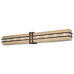 Metropolitan Lighting Underscore Cimmaron Bronze Bathroom Light