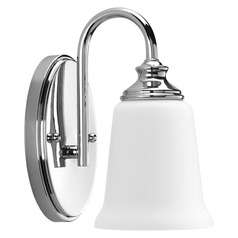 Wander Polished Chrome Sconce